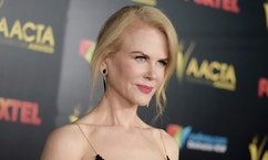 File-This jan. 6, 2017, file photo shows Nicole Kidman attending the 6th Annual AACTA International Awards held at Avalon Hollywood in Los Angeles.  Kidman says her comments that Americans should support President-elect Donald Trump were merely a statement of her belief in democracy, not an endorsement of incoming president. (Photo by Richard Shotwell/Invision/AP, File)