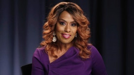 FILE - In this Oct. 7, 2016 file photo, actress and singer Jennifer Holliday poses for a photo during an interview in New York. Holliday, who will perform at Donald Trump's inaugural welcome concert next week, supported Hillary Clinton in the election and says her decision to participate is not a political statement.. (AP Photo/Richard Drew, File)