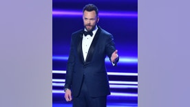 Host Joel McHale speaks at the People's Choice Awards at the Microsoft Theater on Wednesday, Jan. 18, 2017, in Los Angeles. (Photo by Vince Bucci/Invision/AP)