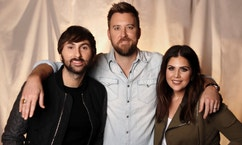 "InIn this Jan. 9, 2017, photo, the members of Lady Antebellum, from left, Dave Haywood, Charles Kelley and Hillary Scott pose in Nashville, Tenn. The Grammy-winning vocal group released a new single, ""You Look Good,"" Thursday, Jan. 19, from their forthcoming album ""Heart Break,"" which comes out on June 9. (AP Photo/Mark Humphrey)"