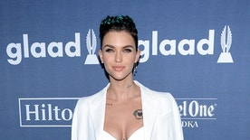 Ruby Rose attends the 27th annual GLAAD Media Awards in Beverly Hills, California April 2, 2016. REUTERS/Phil McCarten - RTSDBLK
