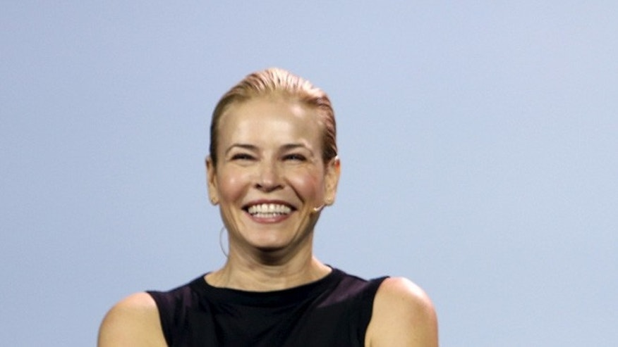 Chelsea Handler nixes two-party politics.