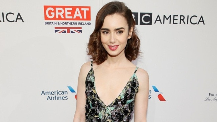 Lily Collins revealed she formerly battled an eating disorder.