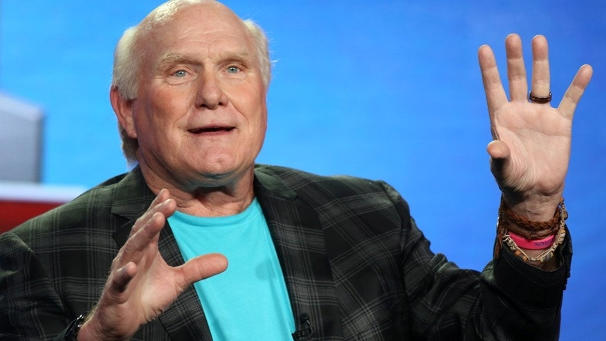 Fox NFL Sunday analyst Terry Bradshaw speaks during the TCA presentations in Pasadena, California, U.S., January 11, 2017.
