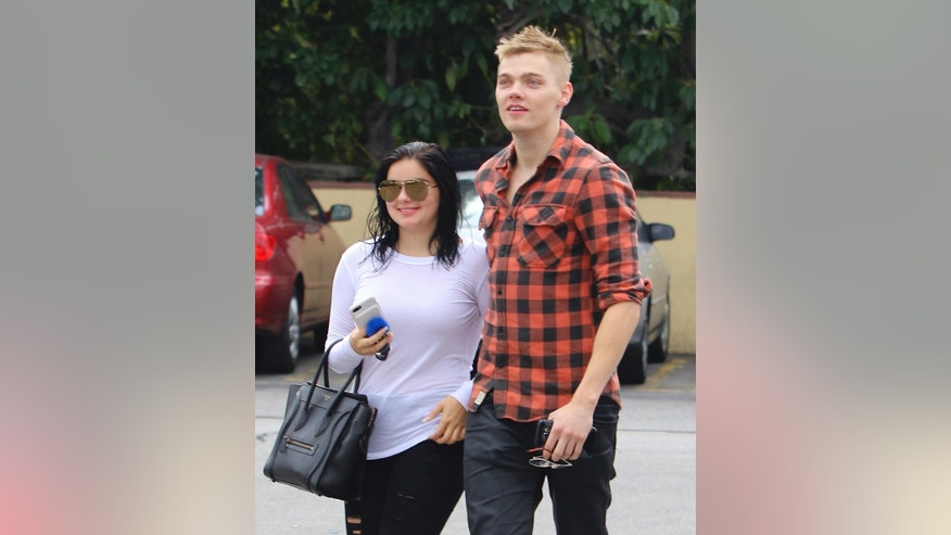 Ariel Winter steps out with Levi Meaden in Los Angeles.