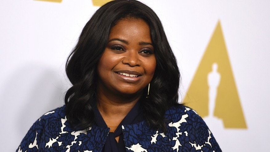 Octavia Spencer arrives at the 89th Academy Awards Nominees Luncheon at The Beverly Hilton Hotel on Monday, Feb. 6, 2017, in Beverly Hills, Calif. (Photo by Jordan Strauss/Invision/AP)
