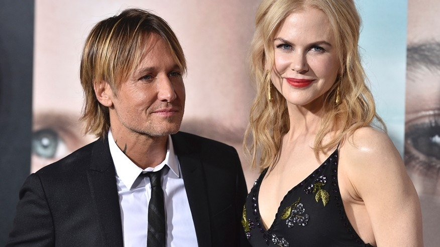"Keith Urban, left, and Nicole Kidman arrive at the Los Angeles premiere of ""Big Little Lies"" at the TCL Chinese Theatre on Tuesday, Feb. 7, 2017."
