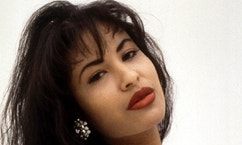 Grammy award-winning Tejano music superstar Selena, 23, was fatally shot and killed by a former business associate March 31 in Corpus Christi, Texas. The suspect, identified as Yolanda Saldivar, surrendered to police after a 9 1/2 hour standoff - RTXG66B