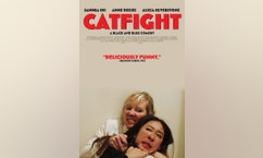 catfight movie poster press day