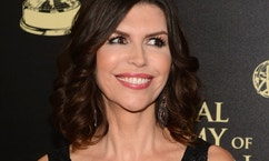 Actress Finola Hughes arrives at the 41st Annual Daytime Emmy Awards in Beverly Hills, California June 22, 2014.   REUTERS/Phil McCarten (UNITED STATES  - Tags: ENTERTAINMENT)  (DAYTIMEEMMYAWARDS-ARRIVALS) - RTR3V5ZN