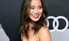 Actress Jamie Chung poses during Audi Celebrates Golden Globes Week 2015 event in West Hollywood, California January 8, 2015.