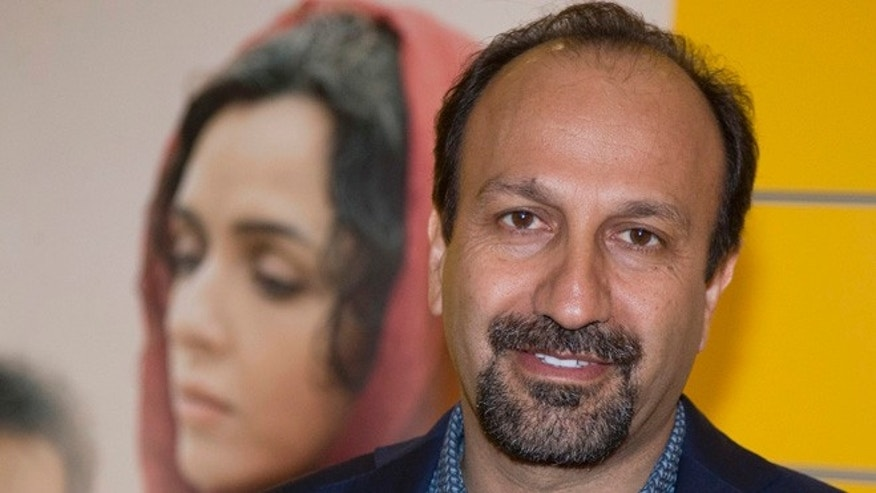 Iranian director Asghar Farhadi has sent a video message to a U.S rally