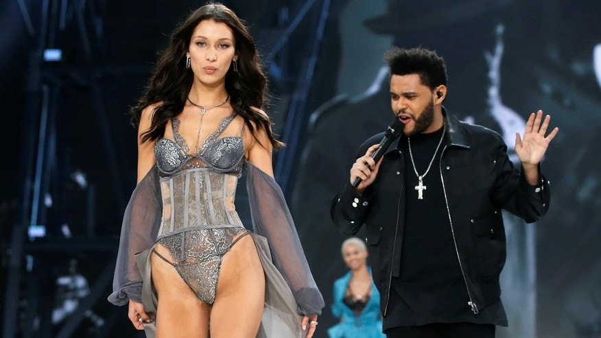 Reuters Bella Hadid The Weeknd Paris