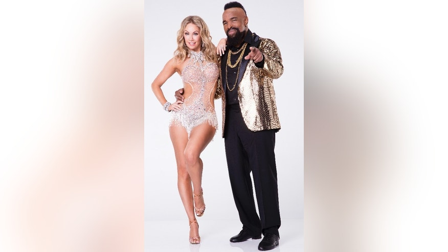 "Mr. T and his ""Dancing with the Stars"" partner Kym Johnson-Herjavec."