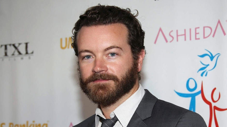 FILE - In this March 24, 2014 file photo, actor Danny Masterson arrives at Youth for Human Rights International Celebrity Benefit at Beso Hollywood in Los Angeles.