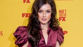 """Actress Irina Dvorovenko attends """"The Americans"""" Season 5 Premiere at DGA Theater on February 25, 2017 in New York City."""