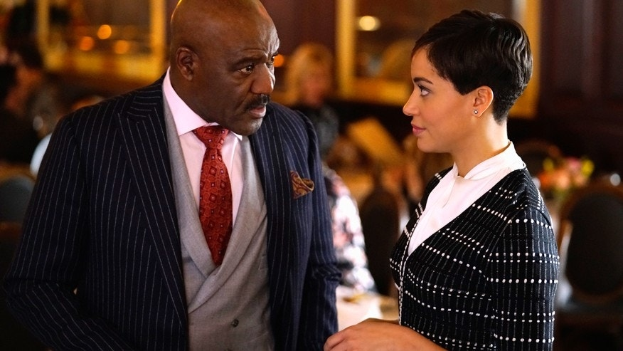 "This image released by CBS Interactive shows Delroy Lindo as Adrian Boseman, Cush Jumbo as Lucca Quinn in a scene from the ""Stoppable: Requiem for an Airdate"" episode of ""The Good Fight,"" planned for March 12 on CBS  All Access."