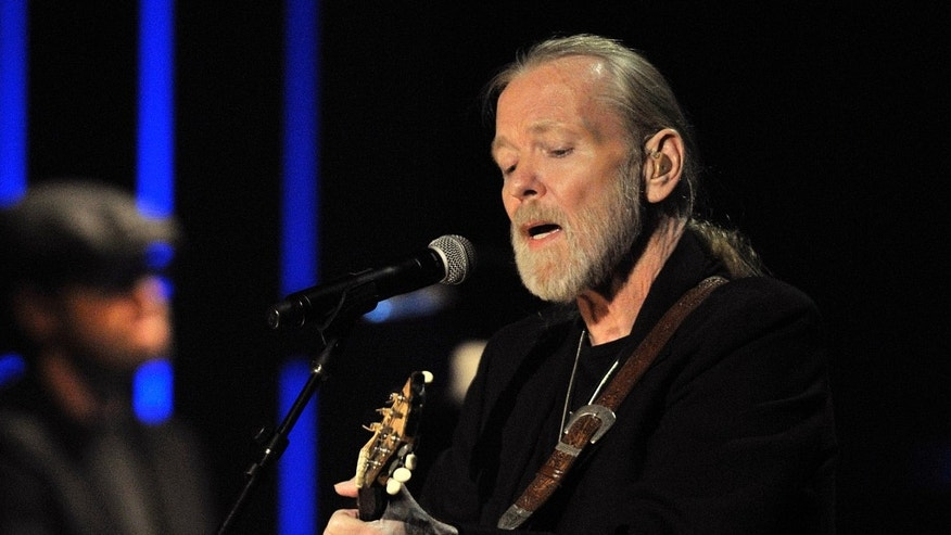 This Oct. 13, 2011 file photo shows Greg Allman, winner of the 2011 Americana Lifetime Achievement Performer Award, performing at the Americana Music Association awards show in Nashville, Tenn. Allman announced Monday he would not be touring in 2017.