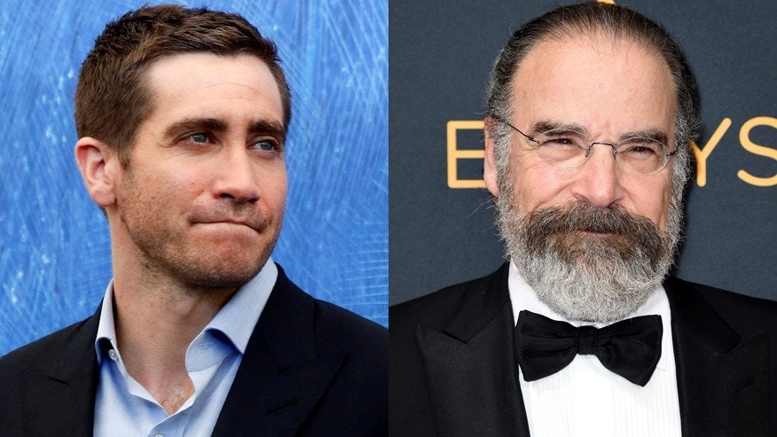 Jake Gyllenhaal, left, reprises Mandy Patinkin's role in Broadway's 'Sunday in the Park With George.'