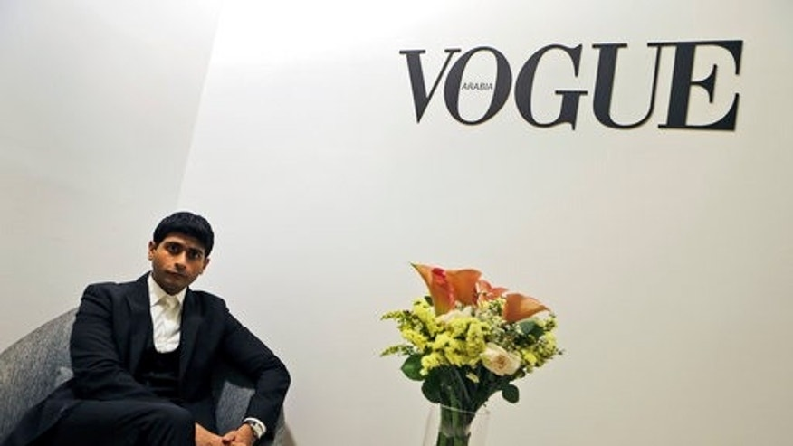 CEO & Publisher of the Vogue Arabia, Shashi Menon poses for the camera at the magazine office at the Dubai Design District in Dubai, United Arab Emirates, Wednesday, March 15, 2017. Vogue launched its 22nd print edition this month in English and Arabic, targeting a niche audience in the Middle East that is fashion conscious, style-driven and wealthy.