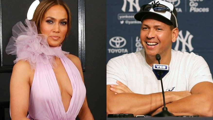 Alex Rodriguez took Jennifer Lopez to a baseball game in Florida.