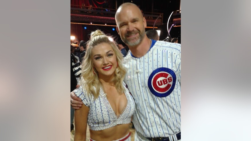 David Ross and his dance partner Lindsay Arnold