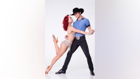 "Bonnor Bolton with his ""Dancing with the Stars"" partner Sharna Burgess."
