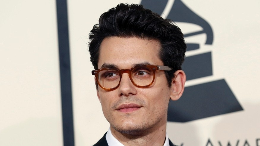 John Mayer arrives at the 57th annual Grammy Awards in Los Angeles, California February 8, 2015.