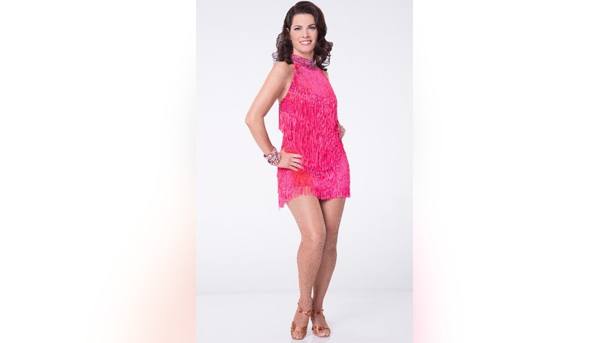 "Nancy Kerrigan competes on Season 24 of ""Dancing with the Stars."""