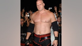 """Kane, WWE Raw Superstar during """"See No Evil"""" Premiere - Arrivals in Los Angeles, California, United States. (Photo by J.Sciulli/WireImage for LIONSGATE)"""