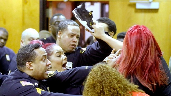 Melee in court in case tied to 'Real Housewives' guest