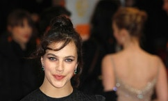 Actress Jessica Brown Findlay arrives for the British Academy of Film and Television Arts (BAFTA) award ceremony at the Royal Opera House in London February 12, 2012. REUTERS/Suzanne Plunkett (BRITAIN - Tags: ENTERTAINMENT) (BAFTA-ARRIVALS) - RTR2XQFO