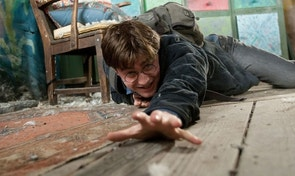 """In this film publicity image released by Warner Bros. Pictures, Daniel Radcliffe is shown in a scene from """"Harry Porter The Deathly Hallows: Part 1."""" (AP Photo/Warner Bros. Pictures, Jaap Buitendijk) NO SALES"""