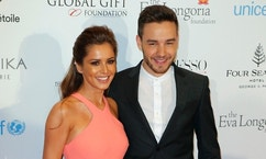 FILE - In this Monday, May 9, 2016 file photo, Cheryl Cole and Liam Payne pose during a photo call for the Global Gift Gala at Four Seasons Hotel George V in Paris. Former Girls Aloud star Cheryl and partner Liam Payne of One Direction fame announced on Saturday March 25, 2017, the birth of their first child. (AP Photo/Francois Mori, File)