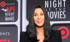 """Actress Cher arrives at Target Presents AFI Night at the Movies in Hollywood April 24, 2013. The event for fans celebrates classic films and Cher introduced her 1987 film """"Moonstruck.""""         REUTERS/Fred Prouser (UNITED STATES - Tags: ENTERTAINMENT HEADSHOT) - RTXYZ2F"""