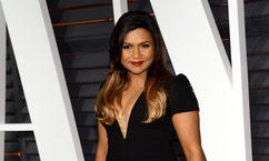 """FILE - In this Feb. 22, 2015 file photo, Mindy Kaling arrives at the 2015 Vanity Fair Oscar Party in Beverly Hills, Calif. """"The Mindy Project"""" is making the leap from broadcast to streaming video courtesy of Hulu, which has ordered 26 new episodes. Hulu's announcement Friday signals a resurrection for the comedy, which had just been cancelled by Fox, where it aired for three seasons. (Photo by Evan Agostini/Invision/AP, File)"""