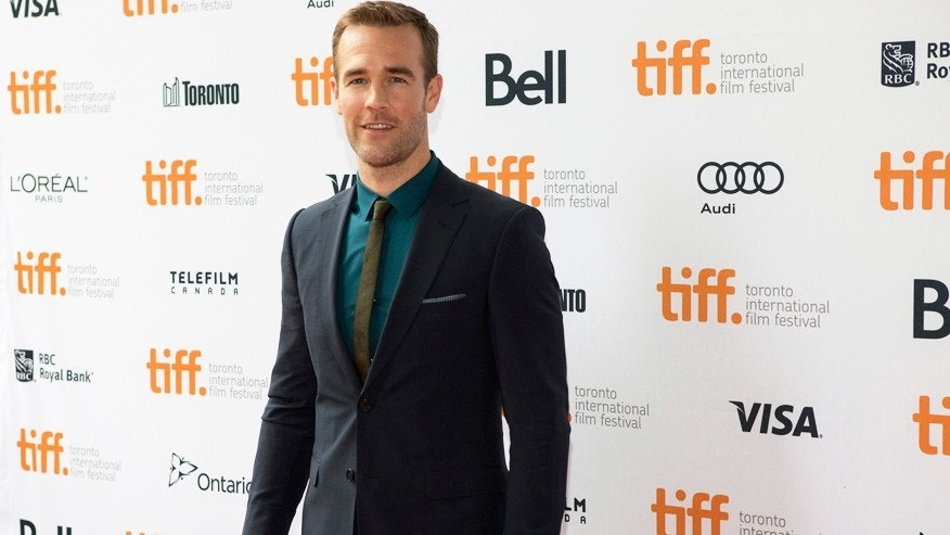 "James Van Der Beek gave an awkward interview on ""This Morning"" when asked about ""Dawson's Creek."""