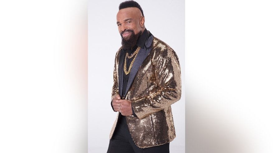 "Mr. T poses for a ""Dancing with the Stars"" promotional picture."