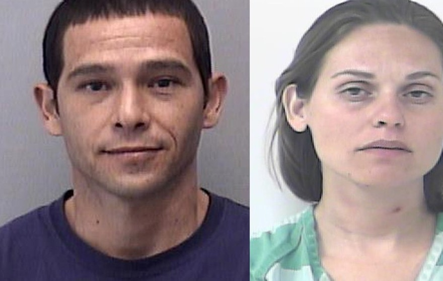 John Jacob Rodriguez (left) and Jessica Ruth Hand.