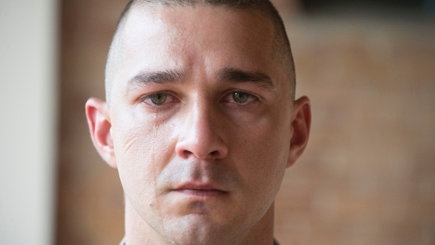 "Shia LaBeouf in a scene from ""Man Down."""