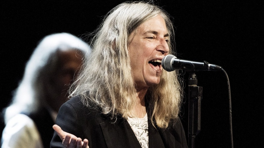 Singer Patti Smith performs at the Royal Danish Theatre in Copenhagen August 13, 2015.