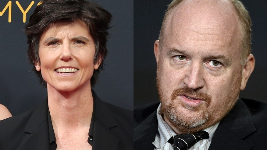 Tig Notaro (left) and Louis C.K.