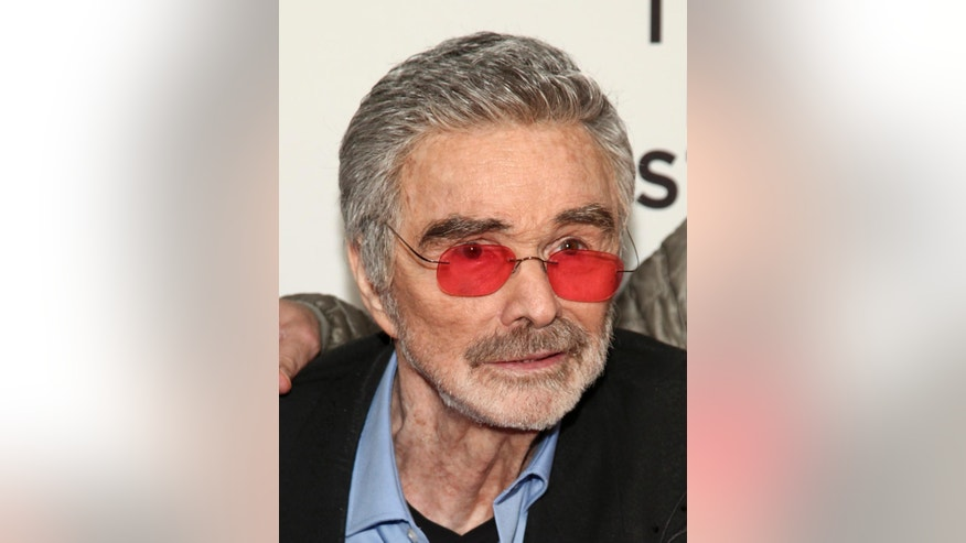 "Burt Reynolds attends the screening of ""Dog Years,"" during the 2017 Tribeca Film Festival, at Cinepolis Chelsea on Saturday, April 22, 2017, in New York. (Photo by Andy Kropa/Invision/AP)"