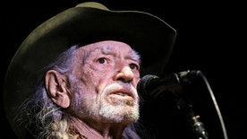 "FILE - In this Jan. 7, 2017, file photo, Willie Nelson performs in Nashville, Tenn. Nelson's latest album, ""God's Problem Child,"" will be released on Friday, April 28. (AP Photo/Mark Humphrey, File)"