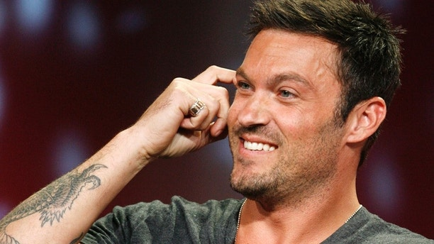 """Actor Brian Austin Green, star of the drama series """"Terminator the Sarah Connor Chronicles"""", takes part in a panel discussion at the Fox TV network summer press tour in Beverly Hills, California  July 14, 2008. REUTERS/Fred Prouser  (UNITED STATES) - RTX7XHY"""