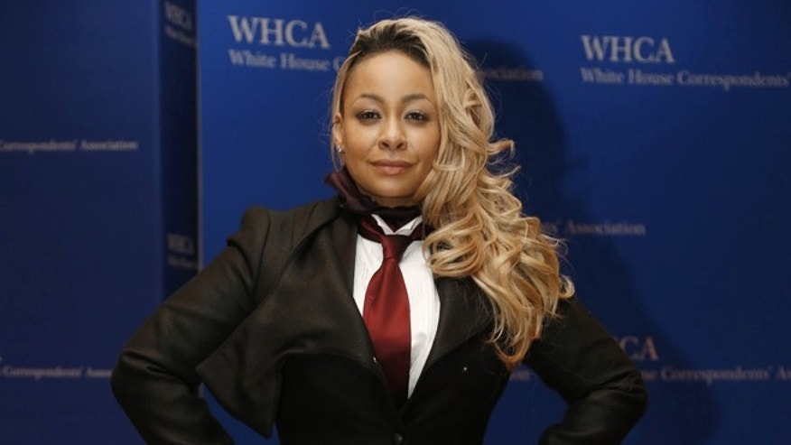 "Raven-Symone says she stills stays in touch with her ""View"" co-stars."