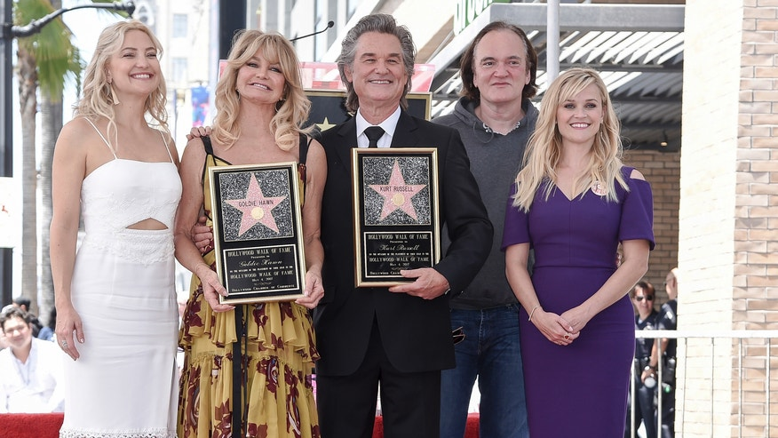 Goldie Hawn and Kurt Russell get side-by-side Walk of Fame ...