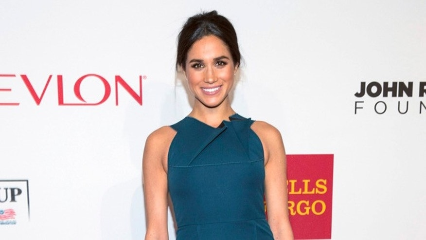 Meghan Markle attended a polo match in which Prince Harry played.