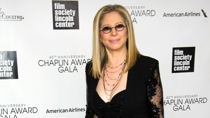 Barbra Streisand made fun of President Trump at her Brooklyn concert.