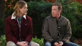 "Christopher Sanders (left) and Tim Allen in the ""Bad Heir Day"" episode of ""Last Man Standing."""